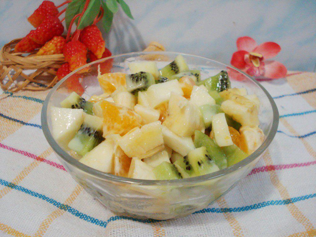 Фруктовый салат при диете при загибе желчного пузыря