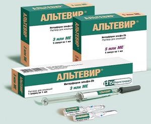 Особенности применения препарата Альтевир