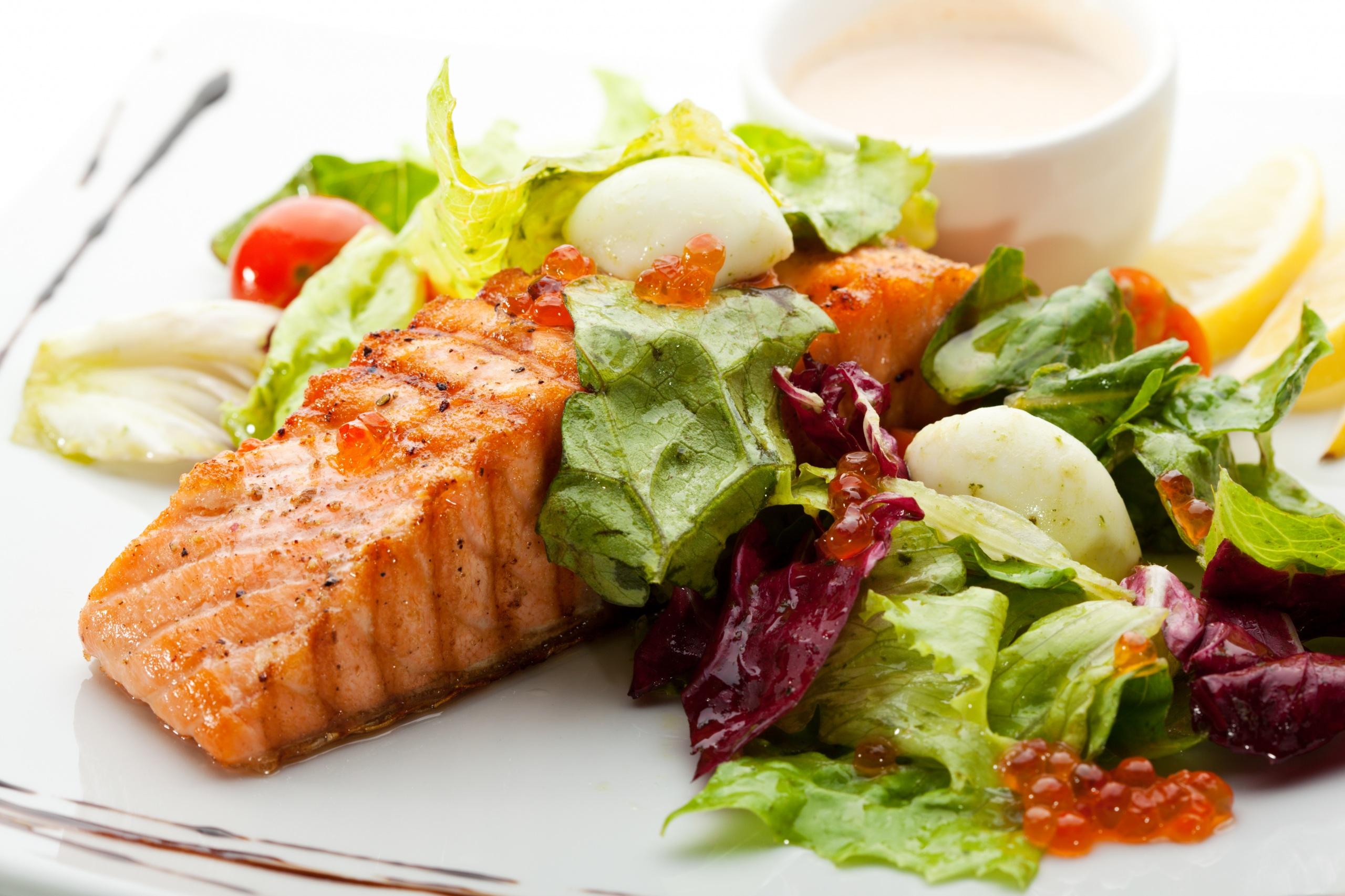 Рыбное блюдо в меню при панкреатите и холецистите