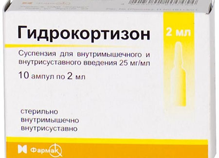 гидрокортизон суспензия