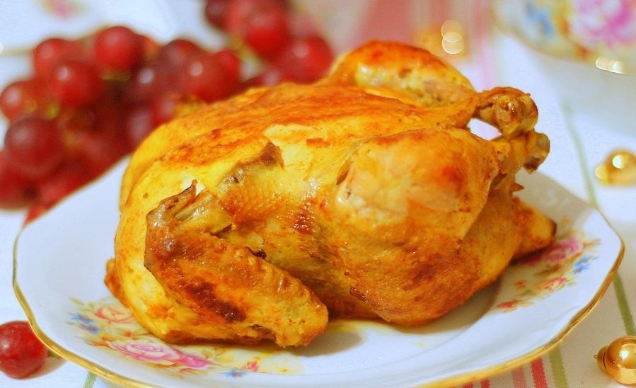 Куркума с курицей для питания при кисте печени