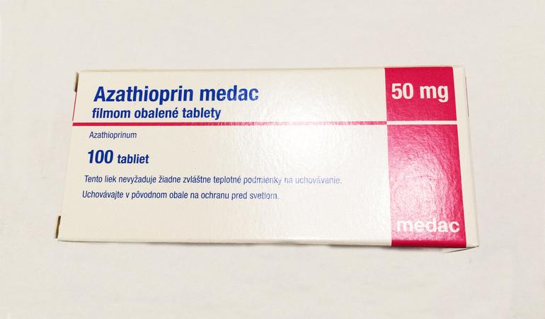 Как хранить препарат Азатиоприн