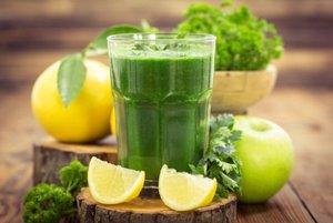 Лимонный сок и петрушка для отбеливания