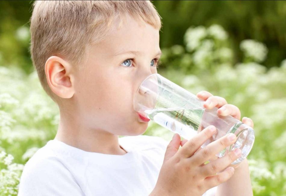 Тюбаж с минеральной водой у детей