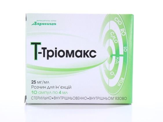 Т-Триомакс свойства