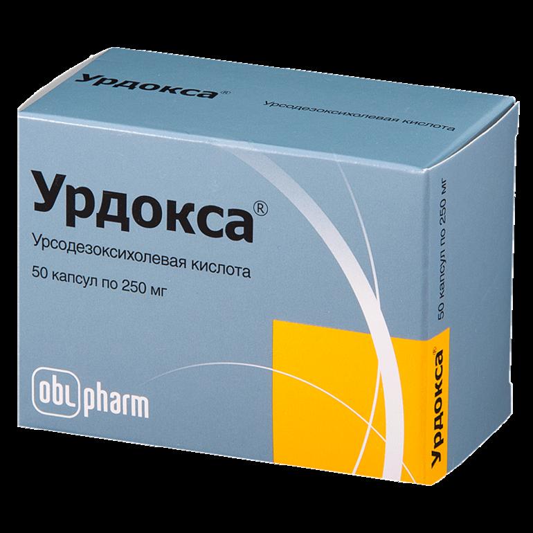 Урдокса фармакологические свойства