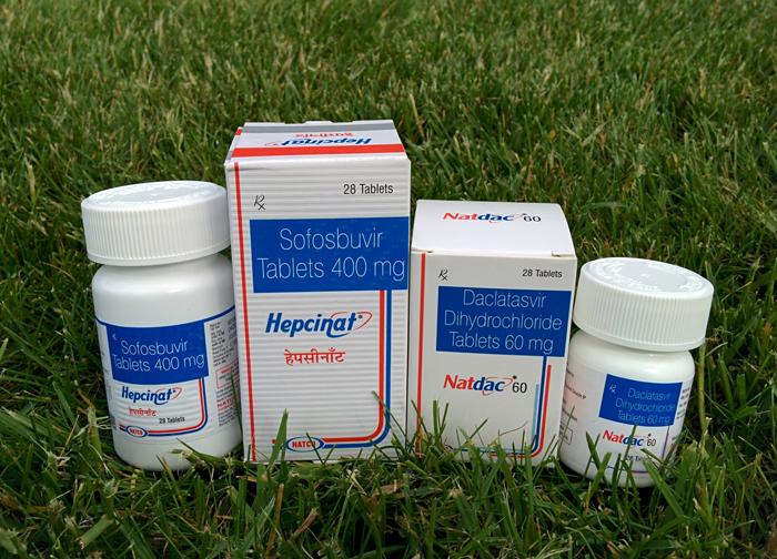 Противовирусные препараты при гепатите С
