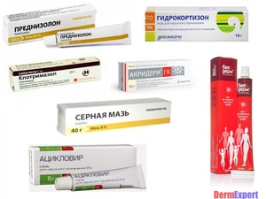 Как выбрать лекарственный препарата при лишае