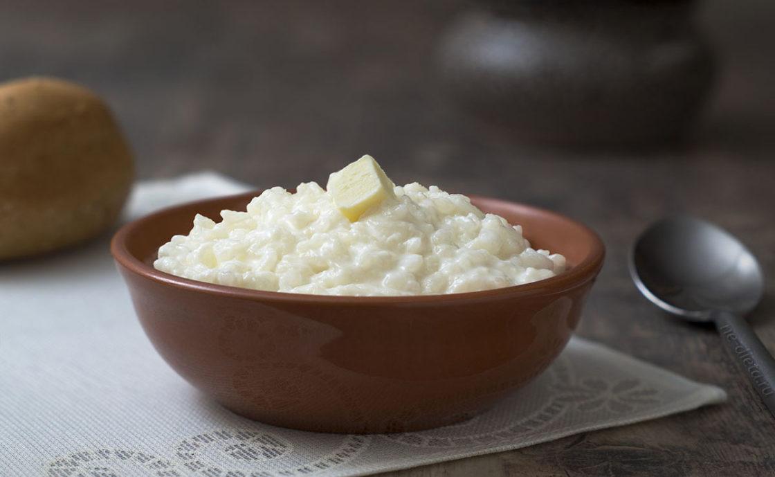 Рисовая каша для питания при кисте печени
