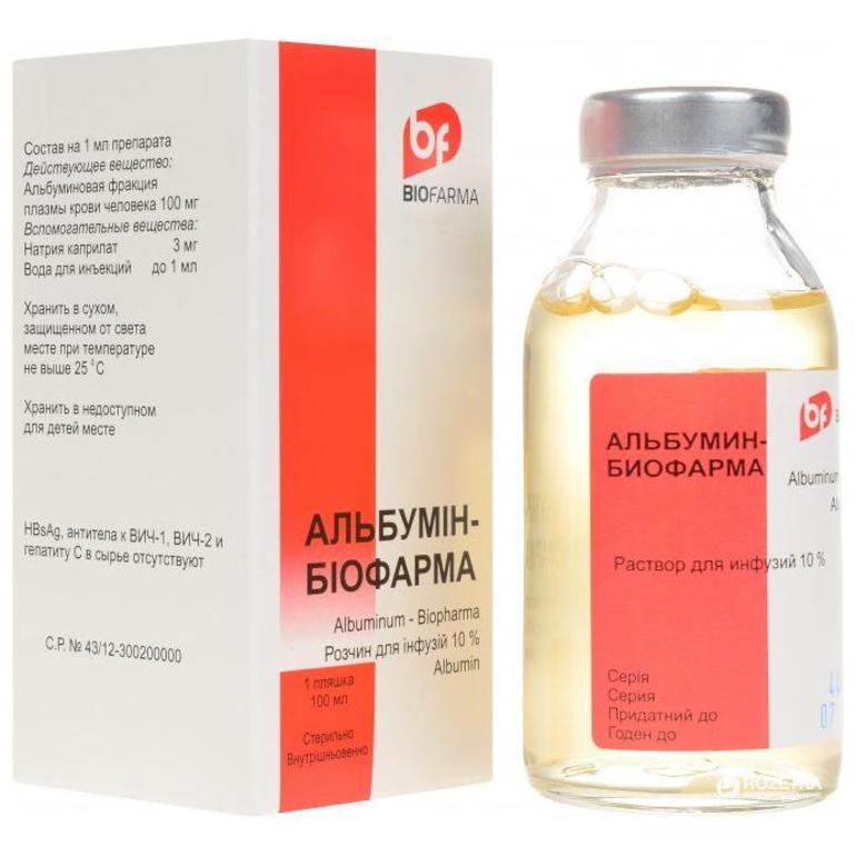 Дозировка и побочные эффекты Альбумина