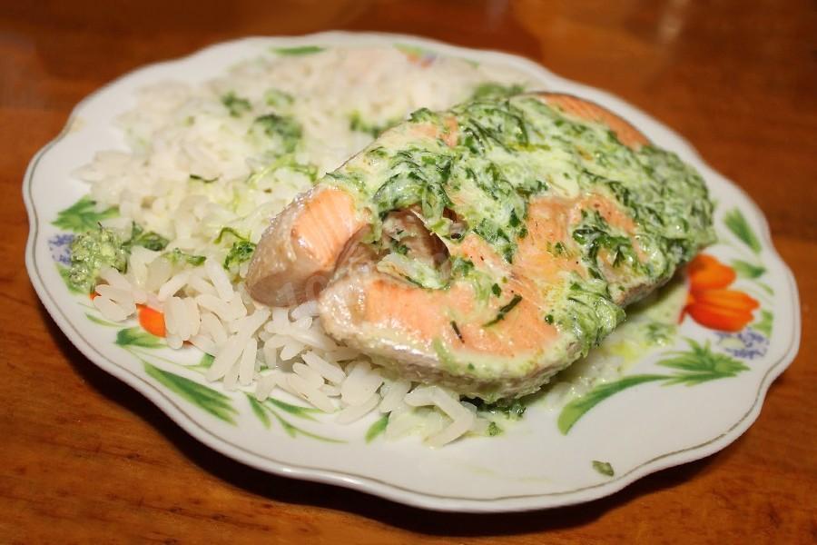 Меню с блюдом из риса и рыбы для больной печени и поджелудочной