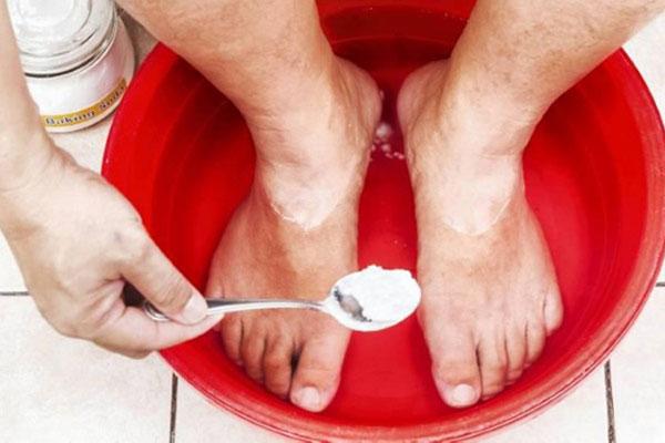 раствор соды для ванночек