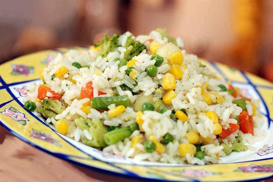 Рецепт плова из овощей для питания при панкреатите и холецистите