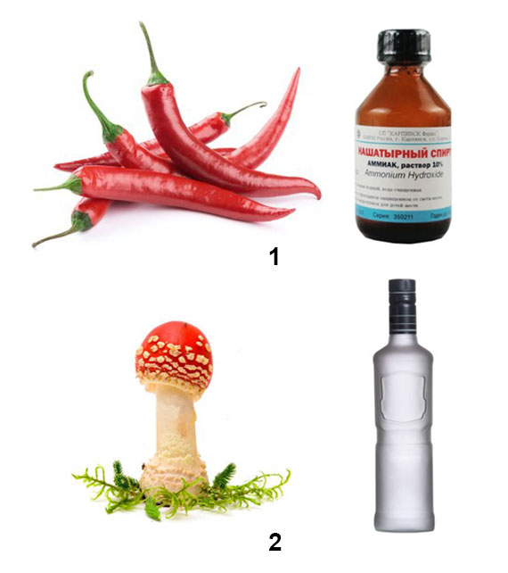 компоненты настойки и растирок от остеохондроза