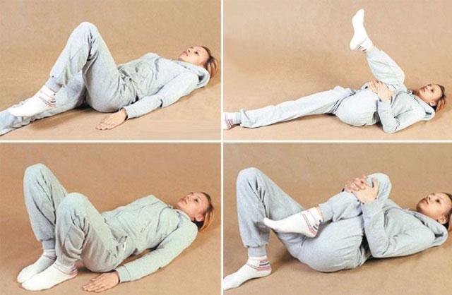 примеры упражнений ЛФК для тазобедренных суставов