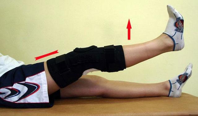 упражнение для реабилитации после операции на коленном суставе