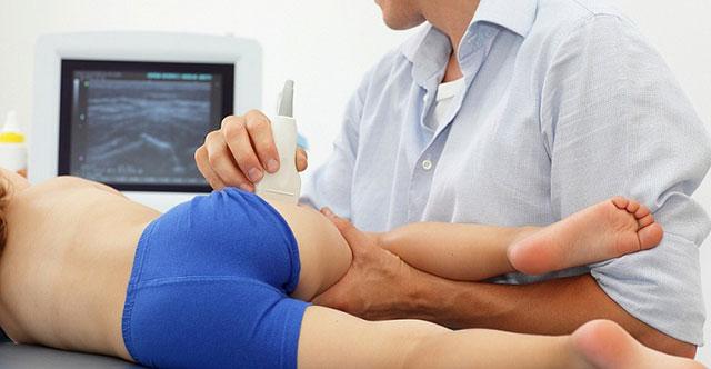 процедура УЗИ тазобедренного сустава