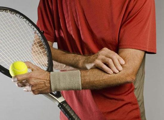 латеральный эпикондилит у теннисиста