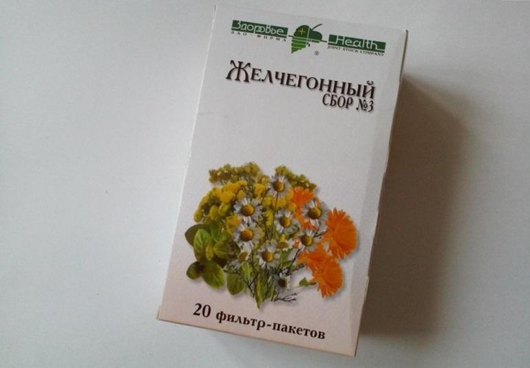 Желчегонный препарат Фитогепатол 3