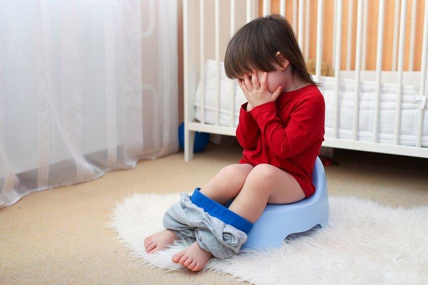 психологический запор у ребёнка