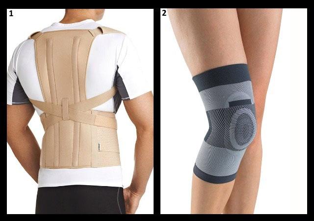 корректор осанки, бандаж на коленный сустав