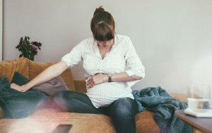 Боль в животе в третьем триместре беременности