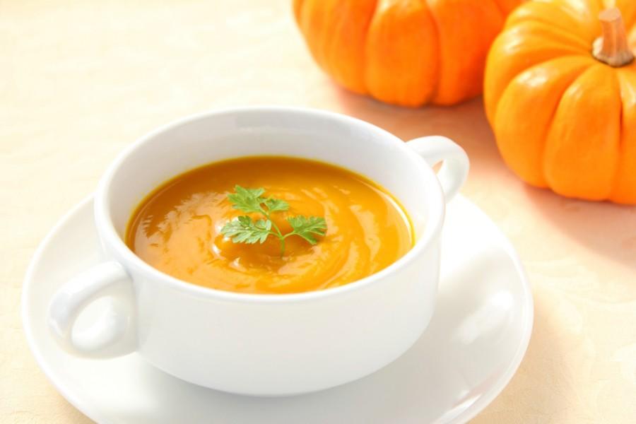 Суп-пюре с тыквой для питания при желчекаменной болезни