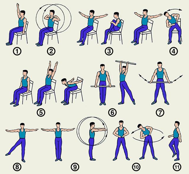 упражнения разминки для тела, которые полезно проводить перед основной тренировкой