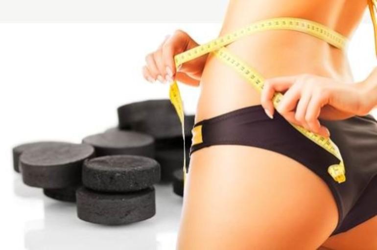 Действие активированного угля в целях похудения