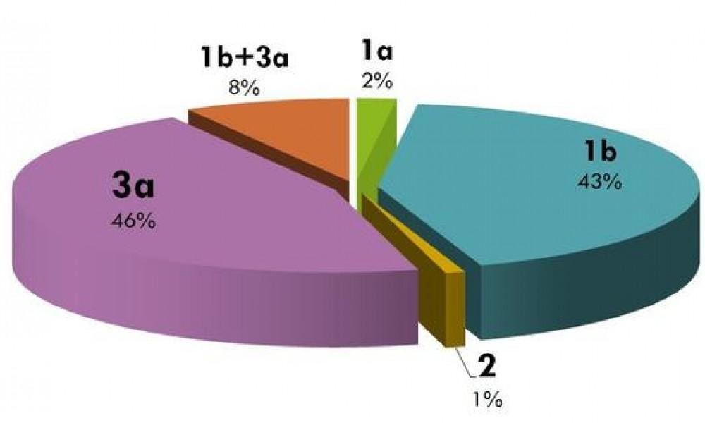 Отличия генотипа 1а гепатита С от других генотипов