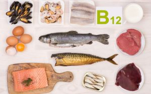 Витамин B12 или кобаламин: польза и вред, дефицит, в каких продуктах содержится, рекомендуемые дозы для беременных и кормящих матерей, источники
