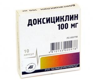 Доксициклин: показания