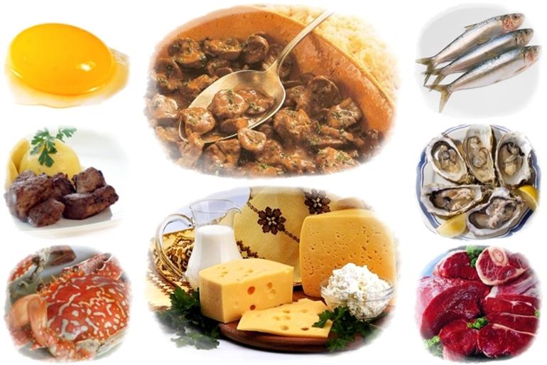 В каких продуктах повышено количество витамина В12