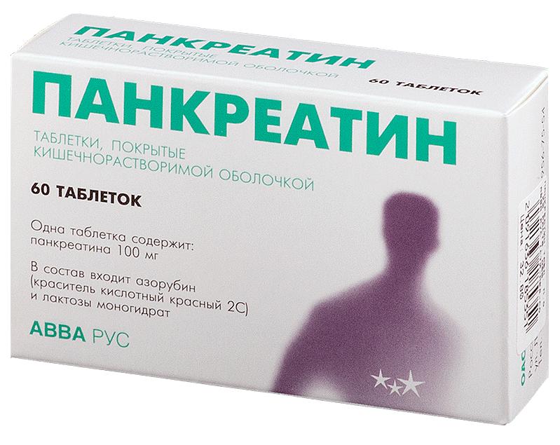 Панкреатин инструкция и дозировка