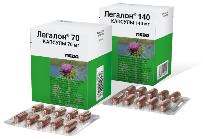 Препараты с расторопшей в составе