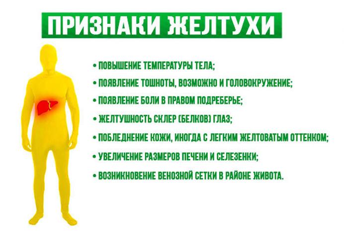 Симптомы обтурационной желтухи