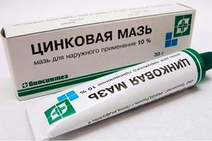 Эффективность кремов с цинком
