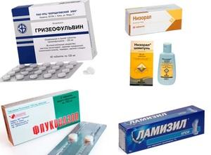 Медикаментозные препараты для лечения грибка между пальцами ног