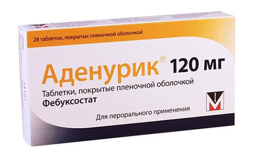 препарат Аденурик
