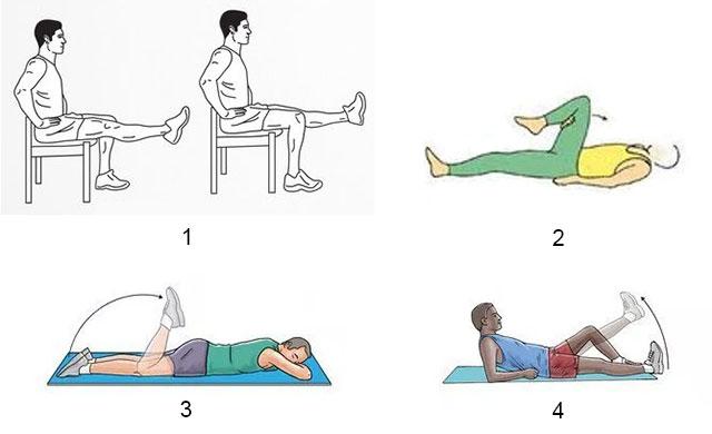 примеры упражнений ЛФК при гонартрозе