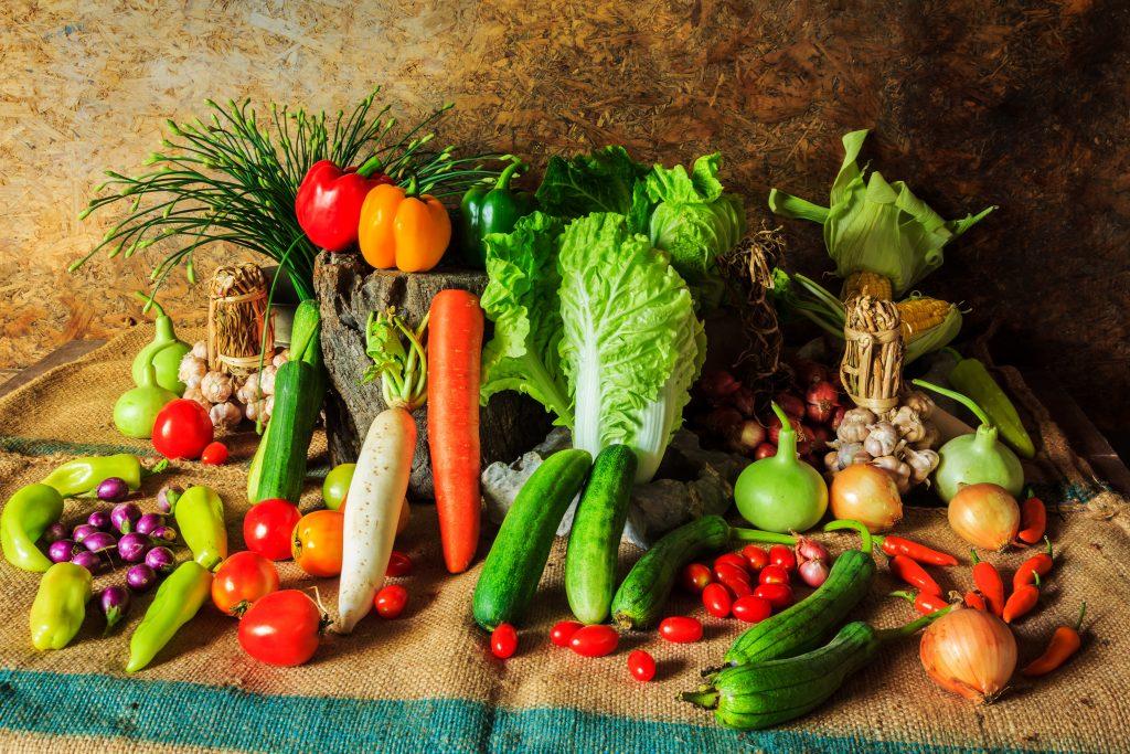 Пересмотрите свое питание и добавьте в рацион больше овощей