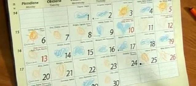 календарь сухих ночей