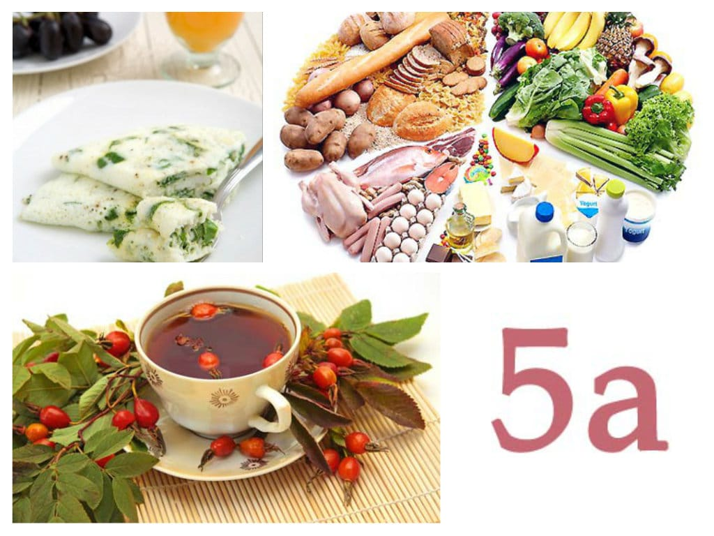 Польза диеты 5а