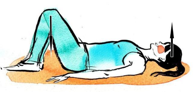упражнение из списка, номер 7, для тазобедренного сустава