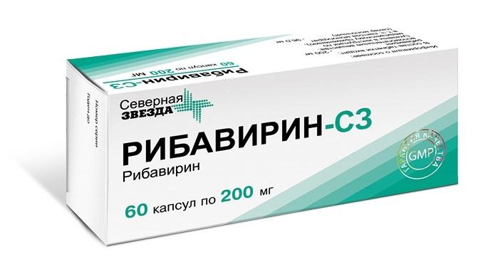 Лечение гепатита С Рибавирин