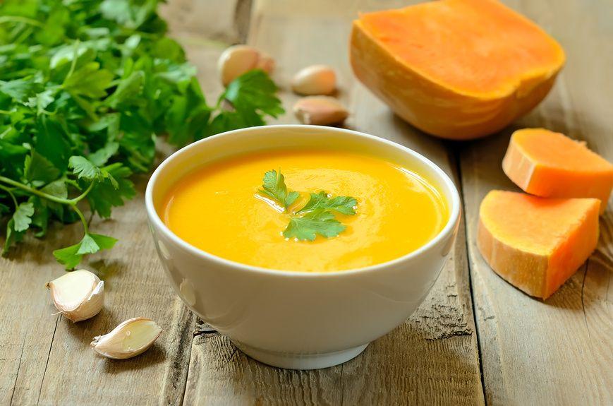 Суп пюре из тыквы в меню при кисте печени