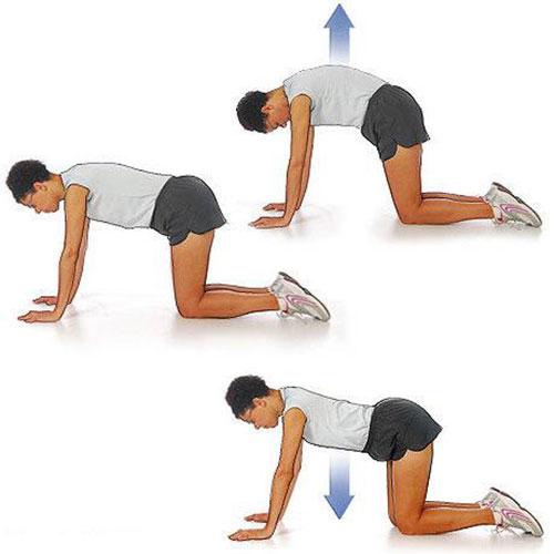 упражнение 6 для позвоночника
