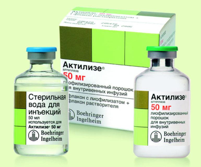 Актилизе с другими препаратами
