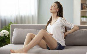 У беременной женщины болят рёбра