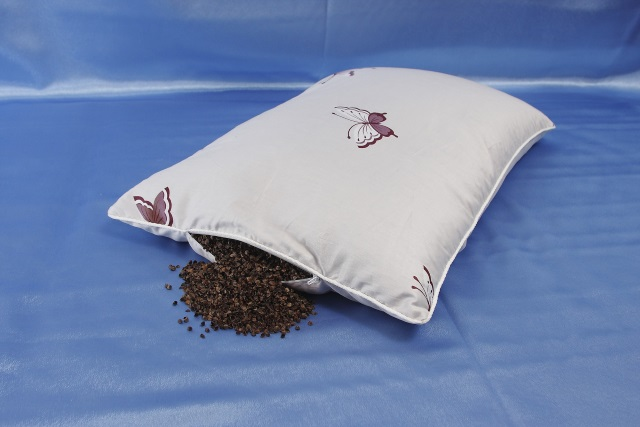 подушка с гречневой лузгой
